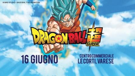 DRagon Ball Super a Varese