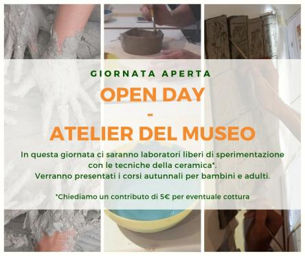 OPEN DAY - ATELIER DEL MUSEO